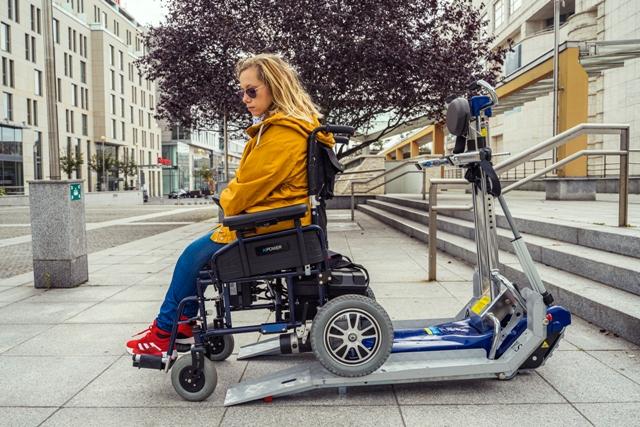 schodolez elektrický vozík 2