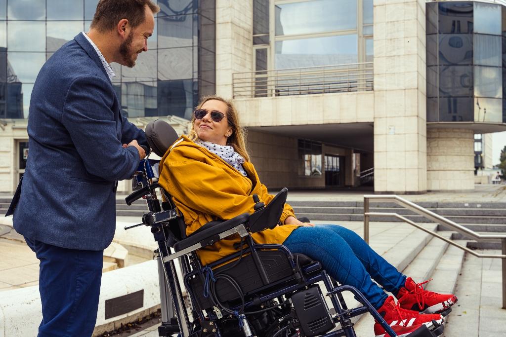 Miška Balcová - schodolez pre el-vozík