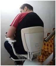 Schodisková sedačka